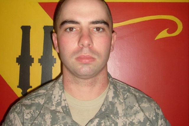 Sgt. Brandon Maggart, 24, an air defense artilleryman with the 5th Battalion, 5th Air Defense Artillery Regiment, was killed in a rocket attack on Contingency Operating Base Basra Aug. 22. He is survived by his wife and son.