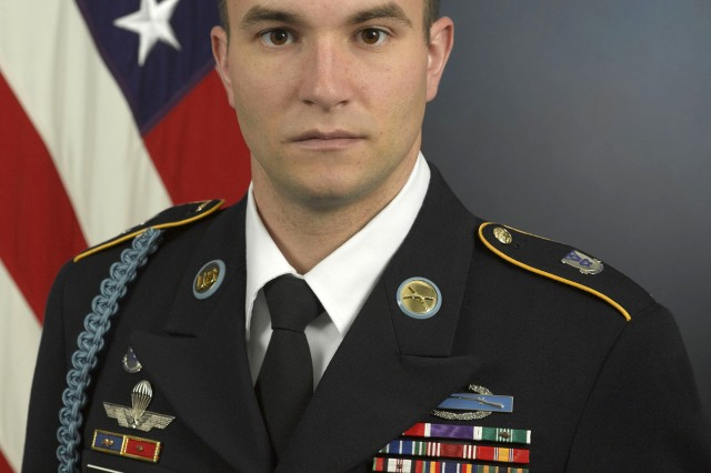 Staff Sgt. Salvatore A. Giunta, Company B, 503rd Infantry Regiment, 173rd Airborne Combat Team, will be awarded the Medal of Honor. The Vicenza, Italy, based paratrooper is cited for acts of bravery above and beyond the call of duty while under fire in the Korengal Valley, Afghanistan, Oct. 25, 2007.
