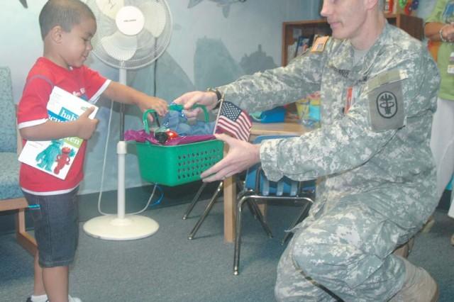 KUSAHC pediatrics celebrates back to school season with give-away