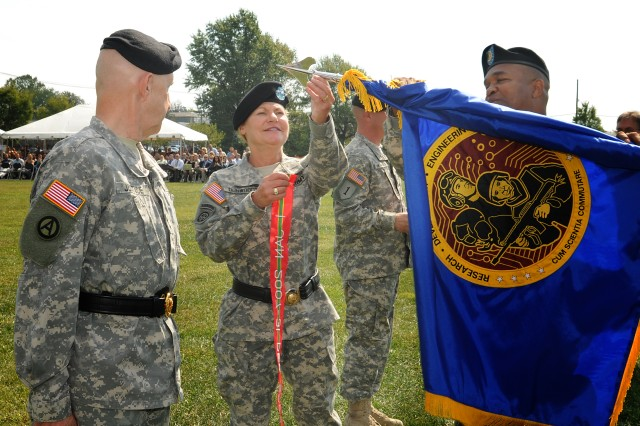 Army honors research, development command at APG ceremony