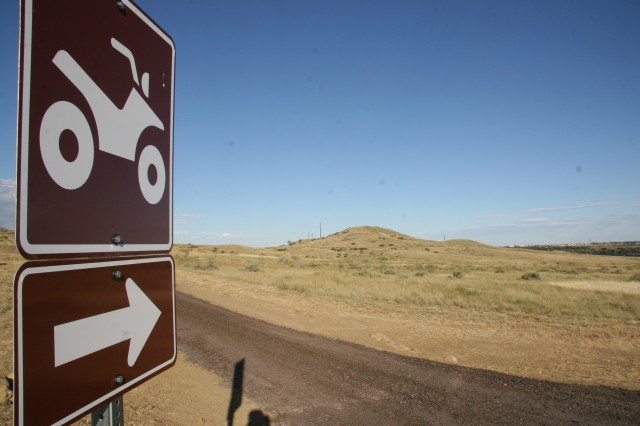 FORT CARSON, Colo.-Trails are clearly marked on the Off Highway Vehicle Park on Fort Carson.