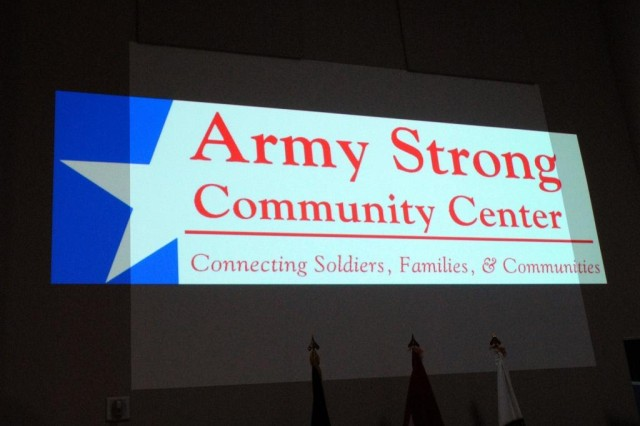 """The Army Strong Community Center serves as a """"virtual installation"""" designed to support military servicemembers, their Families and veterans by assisting those who are holding down the home front, far from the nearest military installation, when their loved ones deploy."""