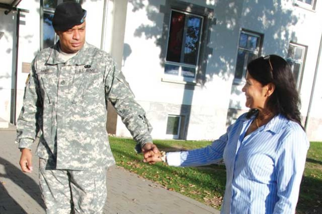 Home again: military spouses and reintegration