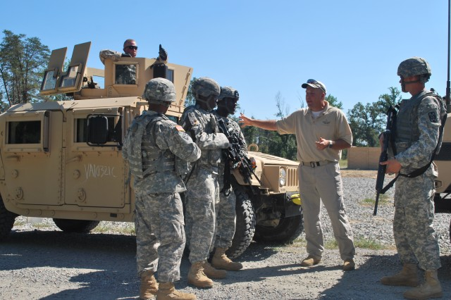 Fort Lee Quartermasters hone tactical skills during field exercise