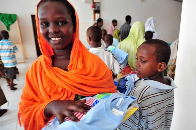School supplies for children in Djibouti