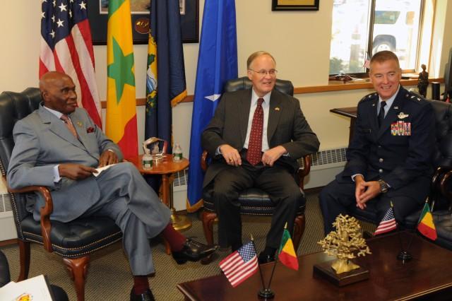 Senegal president praises Guard partnerships