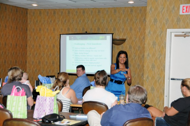 Stewart ACS conducts reintegration classes.