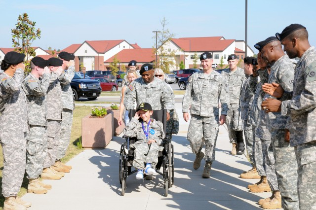 Fort Bragg Soldiers partner with Make-a-Wish Foundation to bring joy to Florida youth