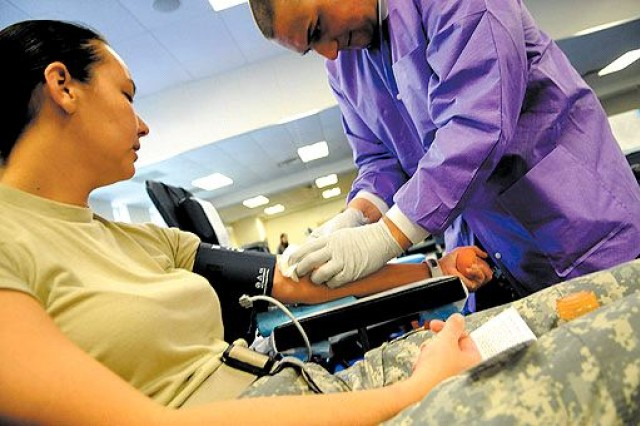 Life force needed: Blood donations given at McNair