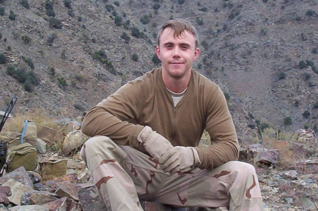 A personal photo of Staff Sgt. Robert Miller.