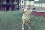 Walking as a baby