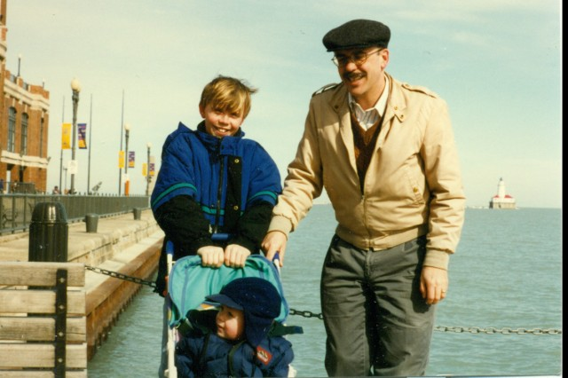 Family photo, courtesy of the Miller family.