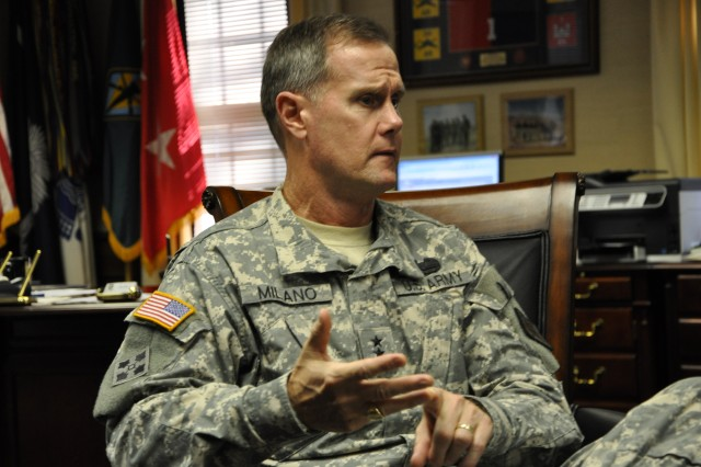 Maj. Gen. James Milano, Fort Jackson's commanding general, reviews his first 100 days as the post's commander.