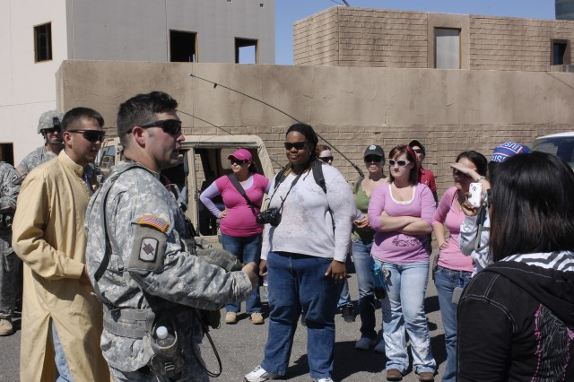 11th ACR spouses tour the National Training Center
