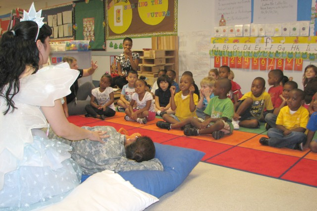 'Tooth fairy' visits pre-k students