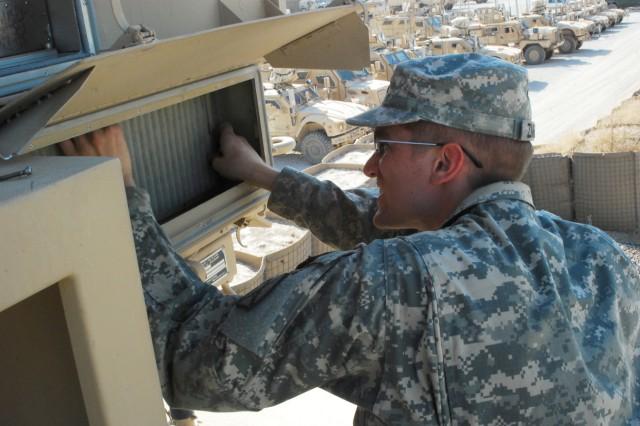 Artillery Soldiers help protect FOB Kunduz