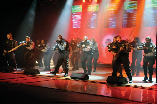 Soldier Show cast entertains Fort Drum audience