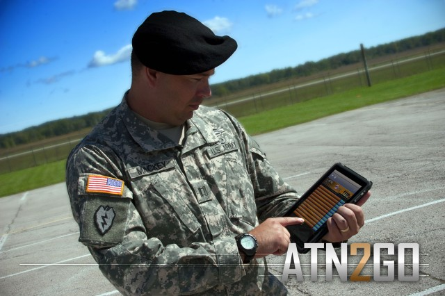 The stand-alone ATN2GO app, which has been downloaded an impressive 1,000 times since it was introduced in late August, brings the best of the Army Training Network to your iPhone, iPad or Android mobile device. Anyone with a CAC card or AKO login can download ATN2GO free at https://atn.army.mil.