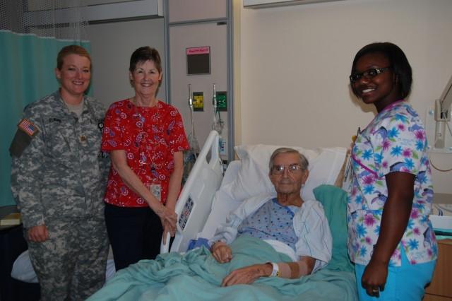 Patient at BAMC
