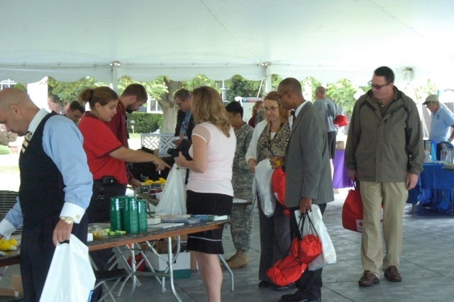 Emergency Management EXPO held on Ft. McNair