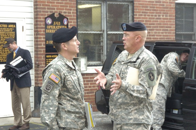 Director of the Army Staff visits JFHQ-NCR/MDW