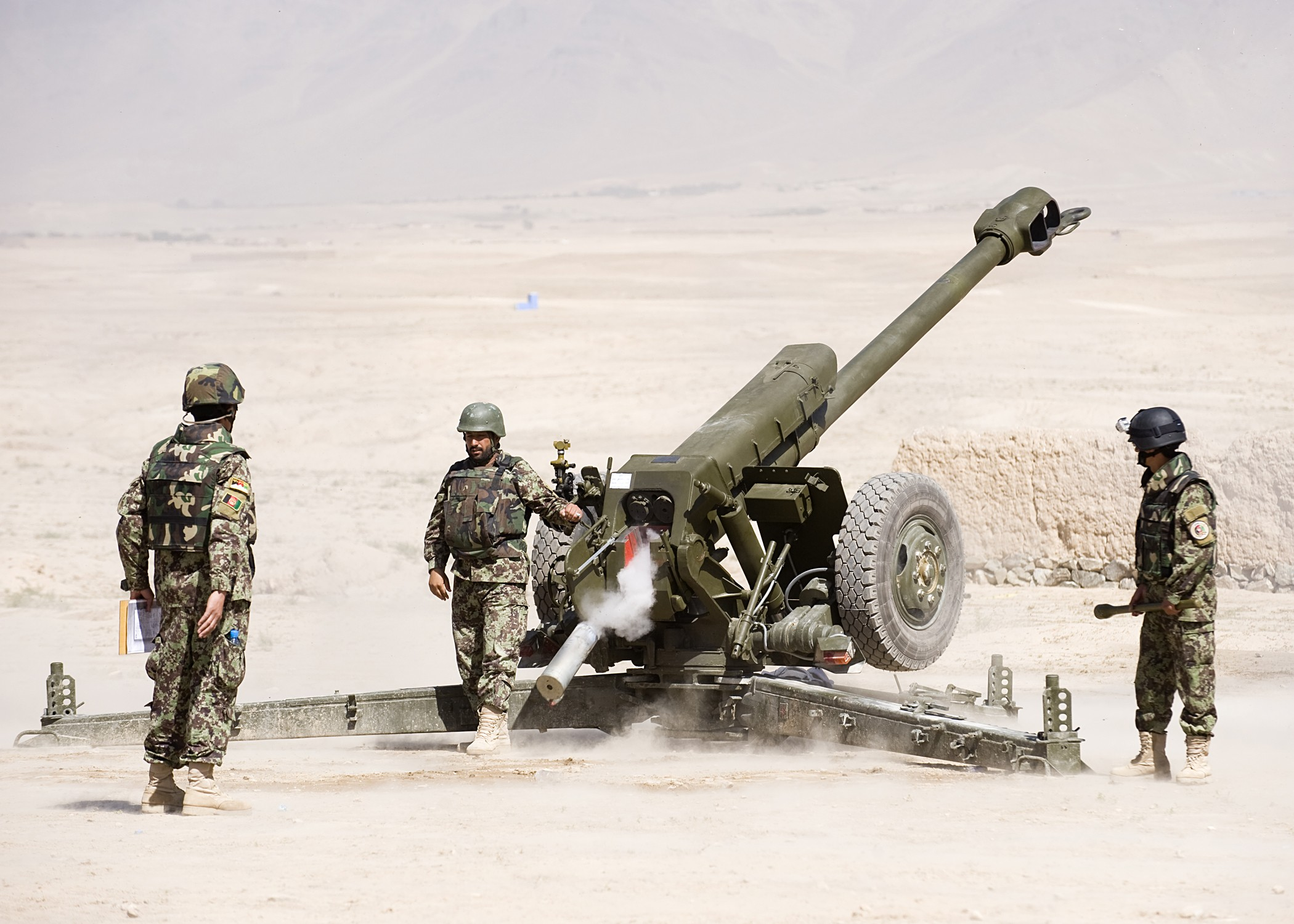 Afghan Army opens new artillery training school | Article | The ...