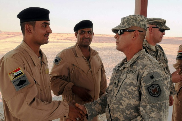 It's 'Black Seven' up for the Iraqi Army; now that's refreshing