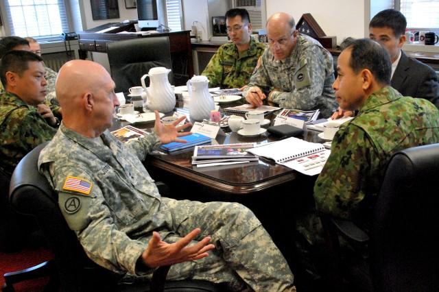 Japanese logistics team visits APG