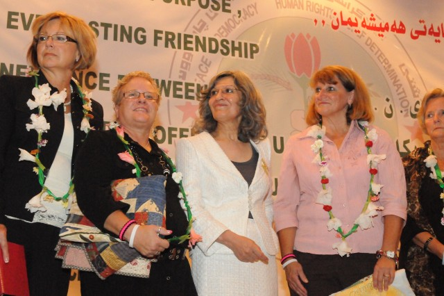 Mothers of fallen Soldiers travel to Iraq