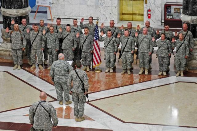 Army, Air Guard meet end strength
