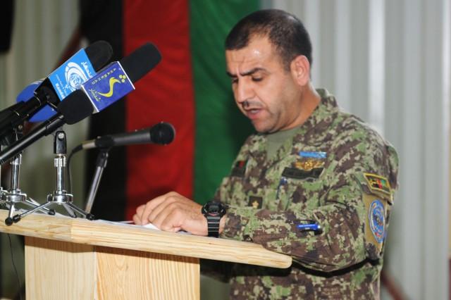 Afghan Maj. Gen. Sherzai