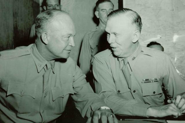 Marshall and Eisenhower