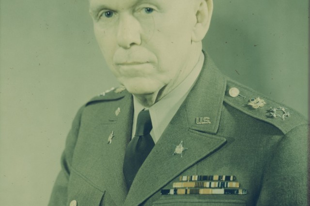 A U. S. Army portrait of General George C. Marshall, Army Chief of Staff during the Second World War.
