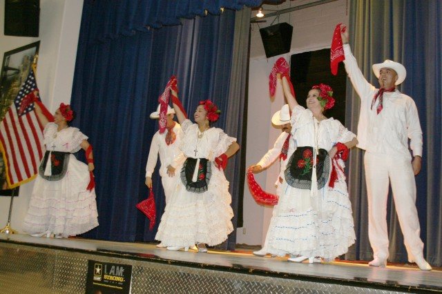 The Guadalupe Flamenco Dance Group from the Guadalupe Cultural Arts Center performs several dances Oct. 7 at the Hacienda Recreation Center.