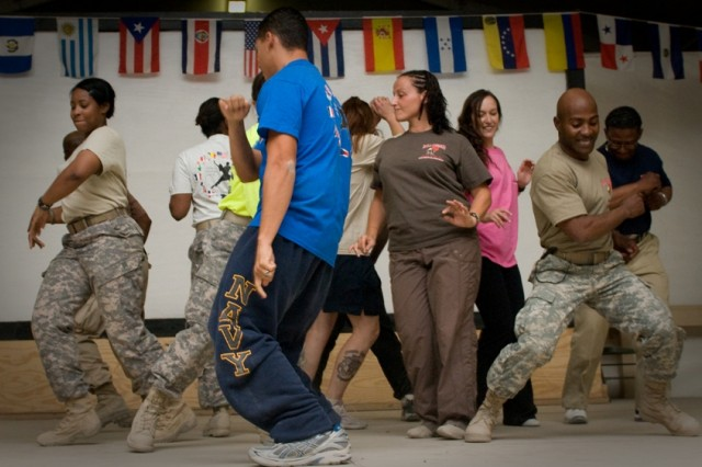 Servicemembers celebrate Hispanic Heritage Month in Afghanistan