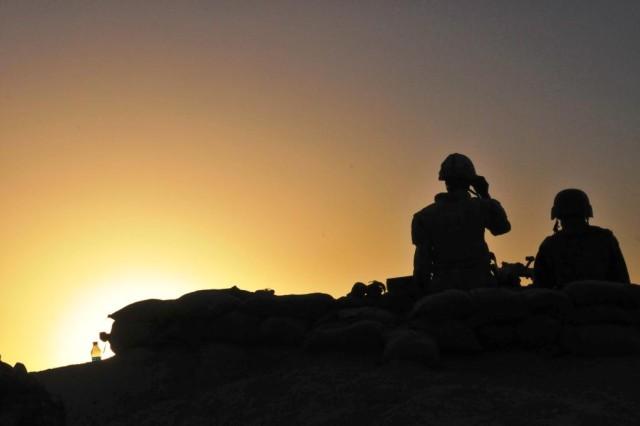 Canadian patrol in Panjwai'i 7