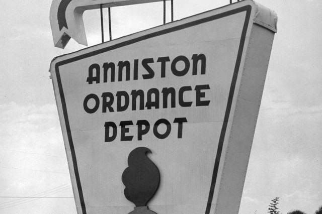 Before it was Anniston Army Depot, this installation was called Anniston Ordnance Depot and was touted as the Ordnance Center of the South.