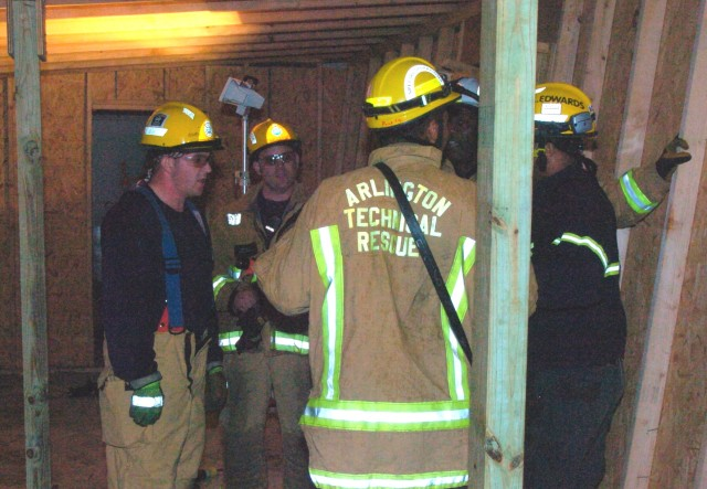National Capital Region rescue teams practice their skills during Capital Shield 2011