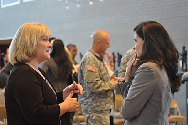 Spouses honored for service