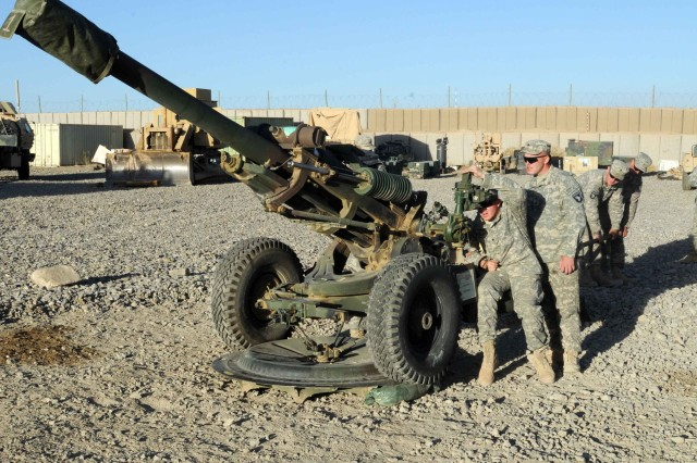 TF Currahee artillerymen train, prepare to answer the call
