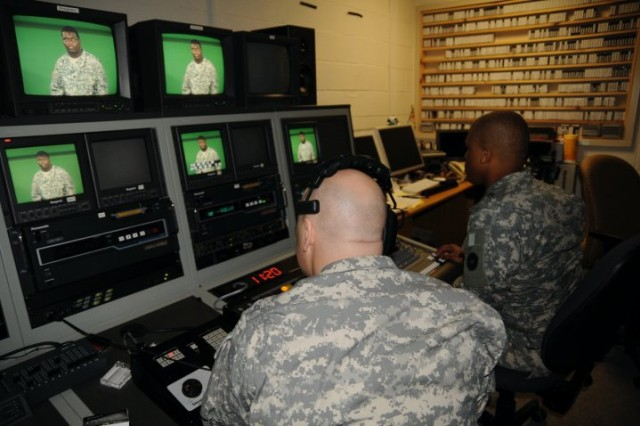 Telling Soldiers' stories through glass: Army broadcast journalists play important role