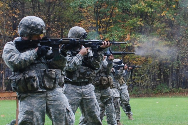New York National Guard Soldiers train for South African competition