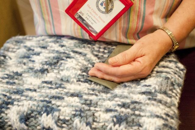 Natick donates prayer shawls to Fisher House