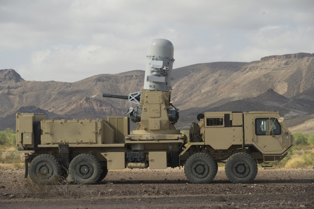 HEMTT A3 with Phalanx Weapon System