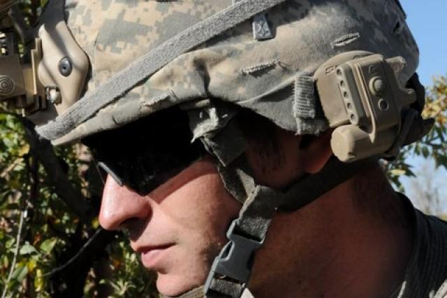 Soldier displays courage under fire