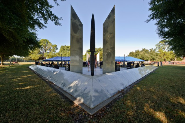 Hundreds gathered Friday at the National Ranger Memorial for a ceremony honoring Rangers and graduates of the U.S. Military Academy at West Point who were killed in action since the Vietnam War.  Their names were added to the memorial over the summer as part of a collaborative effort.