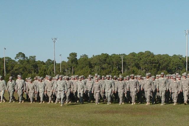 3rd ID troops return to Fort Stewart