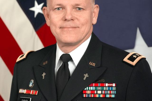 Chaplain (Major General) Douglas L. Carver
