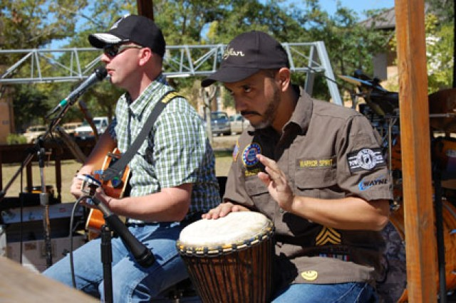 Warrior Spirit Band motivates, inspires wounded warriors