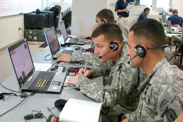 BCTC trains with realistic, virtual fire support missions